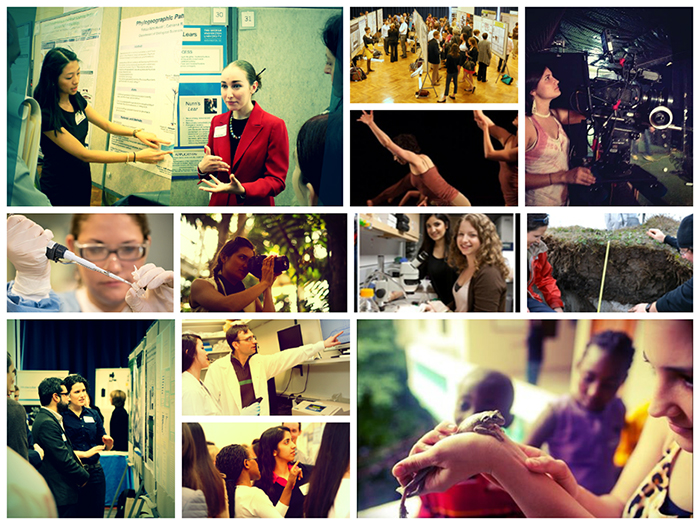 Collage of Undergraduate Research