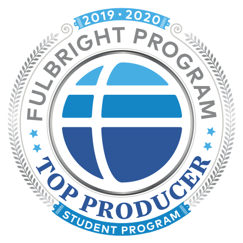 To Producing Fulbright Institution Digital Badge