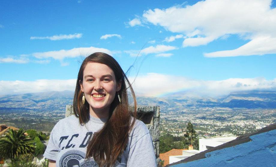 Jane Olmstead-Rumsey in Ecuador