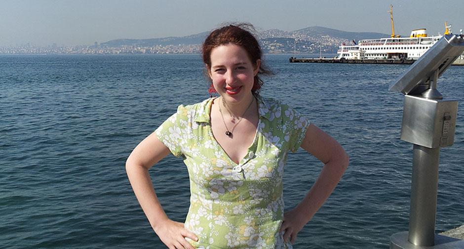 Margaret Kahn in Turkey
