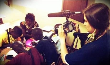 Katie Schuler in Haiti