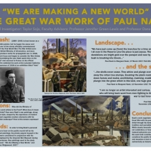 Taylor Soja's research poster