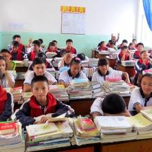 Cailtin Keliher's classroom in China