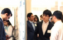 Undergraduate students present at Research Day 1