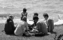 CLS participants study together