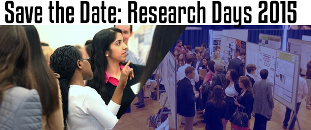 Research Days will be March 31, 2015