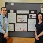 Adam Bethke and Fran Buntman at GW Research Days 2012