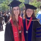Keila Franks and faculty advisor Christina Fink